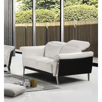 Best Master Furniture Bonded Leather Love Seat
