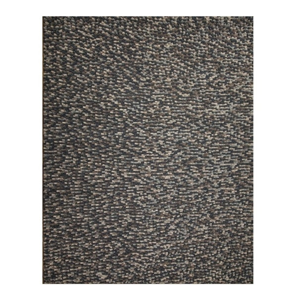 Shop Mats Inc Felted Wool Hand Tufted Area Rug 8 X 10 Free