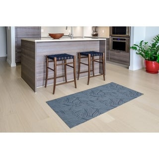 "Mats Inc. Mattisimo All Weather Runner, Goya Dark Gray, 2'2"" x 4'11"""