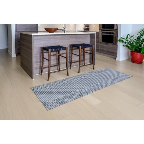 "Mats Inc. Mattisimo All Weather Runner, Maiden Gray, - 2'3"" x 6'7"""