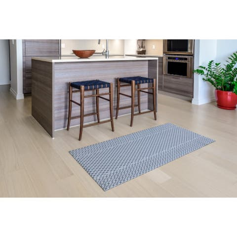 "Mats Inc. Mattisimo All Weather Runner, Maiden Gray, - 2'3"" x 4'11"""