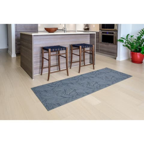 "Mats Inc. Mattisimo All Weather Runner, Goya Dark Gray, - 2'3"" x 6'7"""