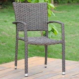 International Caravan Ibiza Aluminum Dining Chair ( Set of 4)
