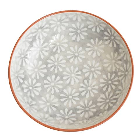 Euro Ceramica Margarida 11.25-inch Serving Bowl