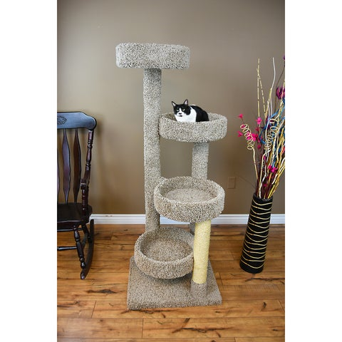 New Cat Condos Solid Wood Large Cat Playground