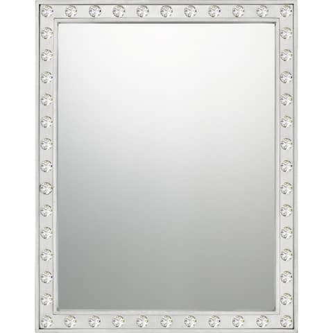Quoizel Fame Wood Reflections Mirror