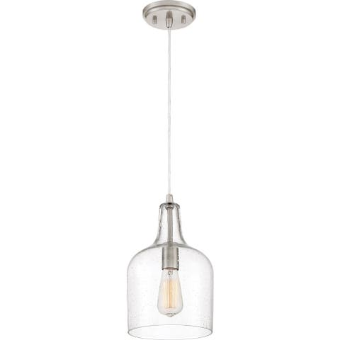 Quoizel Anson Brushed Nickel Piccolo Mini Pendant
