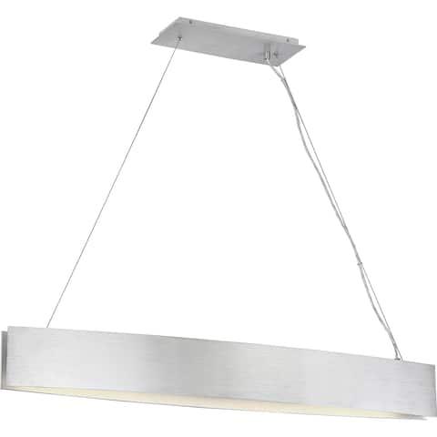 Quoizel Platinum Collection Silver Edge Island Chandelier