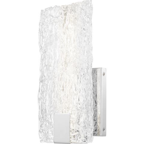 Quoizel Platinum Winter Polished Chrome Wall Sconce