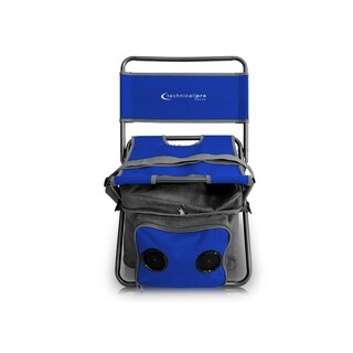 Portable Bluetooth Outdoor Folding Chair with Picnic Set & Removable Cooler