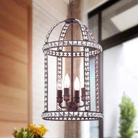 Sheri 4-Light Rustic Iron Pendant Lamp