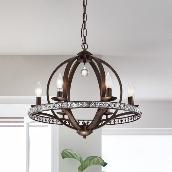 Lovi 6 light antique bronze pendant lamp free shipping today lovi 6 light antique bronze pendant lamp aloadofball Choice Image