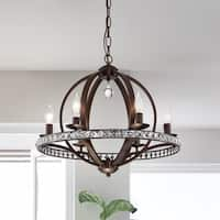 Lovi 6-Light Antique Bronze Pendant Lamp