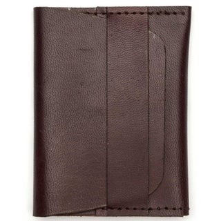 Handmade Sustainable Leather Wallet - Brown (India)