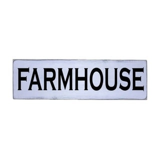 Farmhouse Handmade Farmhouse Wood Wall Art Sign Natural Pine Wood