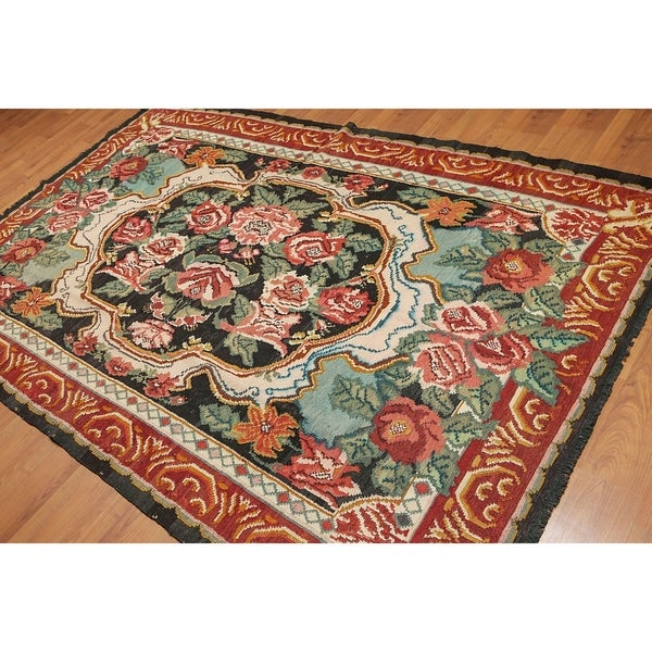 Country Cottage Rustic Turkish Kilim Hand Woven Area Rug 6 X27