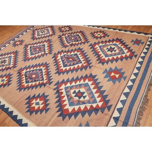 Shop Southwestern Design Turkish Kilim Pure Wool Area Rug