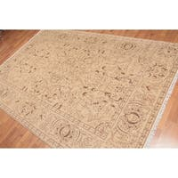 Traditional Oriental Hand Knotted Area Rug - Multi