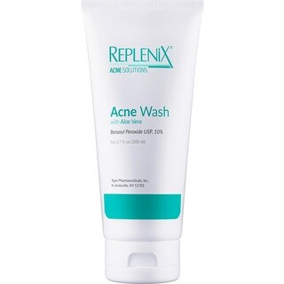 Replenix 10% Benzoyl Peroxide 6.7-ounce Acne Wash with Aloe