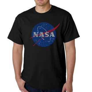 Los Angeles Pop Art Men's Word Art T-shirt - NASA's Most Notable Missions