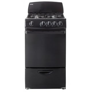 Danby 20 IN Gas Range with 2.4 CF Primary Oven Capacity & Storage Drawer