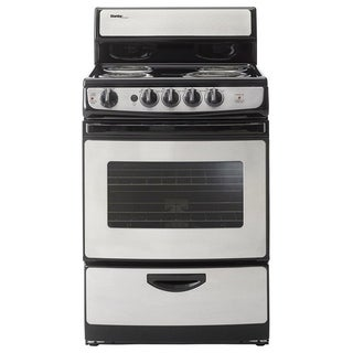 Danby 24 In Electric Range, Stainless Steel