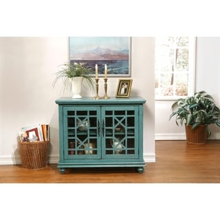 Link to Martin Svensson Home Small Spaces Elegant 2-Door Accent Cabinet - TV Stand Similar Items in Media Cabinets
