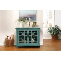 Martin Svensson Home Small Spaces Elegant 2-Door Accent Cabinet - TV Stand