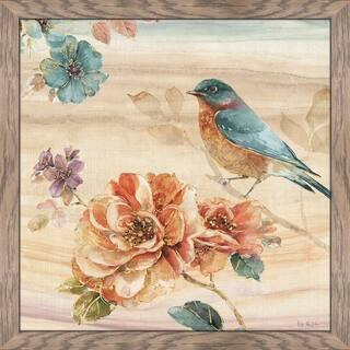 "Lisa Audit ""Spiced Nature III"" Framed Plexiglass Wall Art"