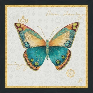"Daphne Brissonnet ""Bohemian Wings Butterfly VIA"" Framed Plexiglass Wall Art"