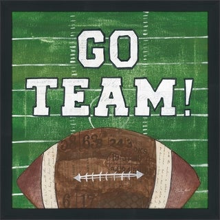 "Courtney Prahl ""On the Field I Go Team"" Framed Plexiglass Wall Art"