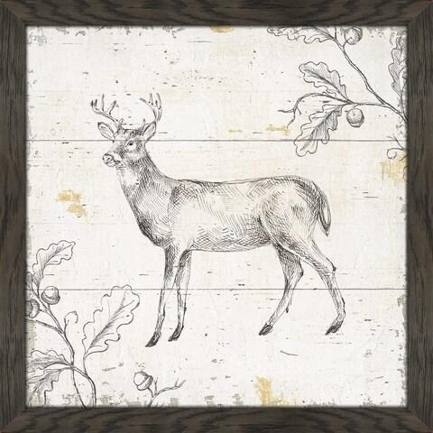 "Daphne Brissonnet ""Wild and Beautiful VI"" Framed Plexiglass Wall Art"