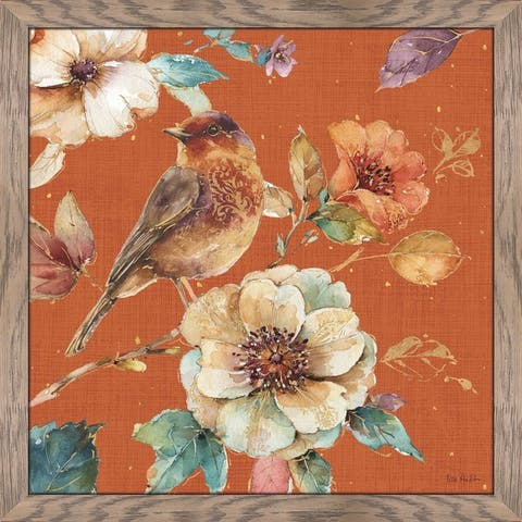 "Lisa Audit ""Spiced Nature XVI Spice"" Framed Plexiglass Wall Art"