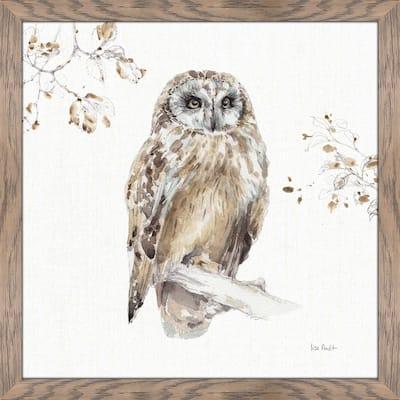 "Lisa Audit ""A Woodland Walk VIII"" Framed Plexiglass Wall Art"