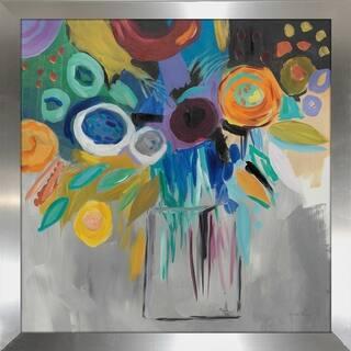 "Farida Zaman ""Burst of Magic"" Framed Plexiglass Wall Art"