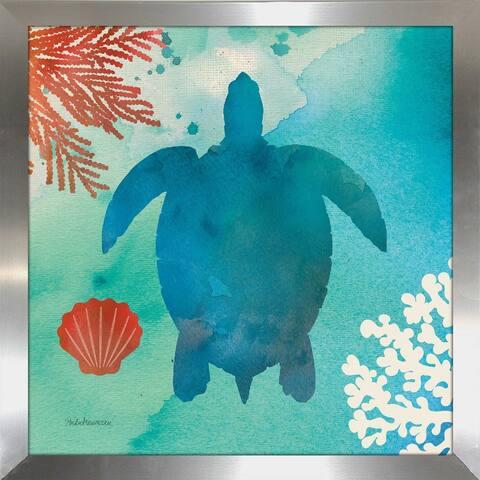 """Studio Mousseau """"Under the Sea II"""" Framed Plexiglass Wall Art"""