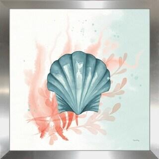 "Elyse DeNeige ""Splash II"" Framed Plexiglass Wall Art"