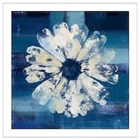 """Studio Mousseau """"Ocean Bloom II"""" Framed Plexiglass Wall Art"""