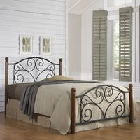 Laurel Creek Minnie Matte Black Metal Bed