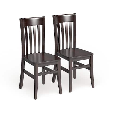Copper Grove Glencairn Solid Wood Dining Chairs (Set of 2)