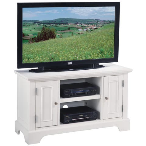 Copper Grove Bardia Naples White TV Stand