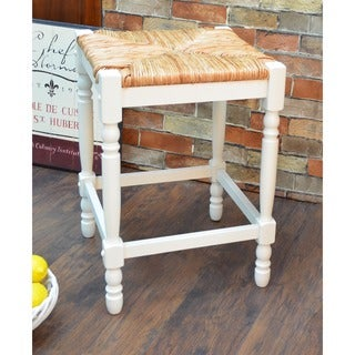 The Gray Barn Stony Creek 24-inch Antique White Morgan Counter Stool