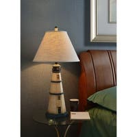 The Gray Barn Tasia 1-light Antique White Table Lamp