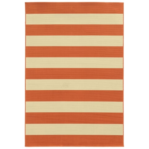 Carson Carrington Sonderso Indoor/ Outdoor Stripe Rug