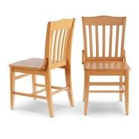 Copper Grove Glencairn School House Dining Chairs (Set of 2)