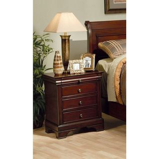 Gracewood Hollow Penman Mahogany Louis Philippe-style Nightstand