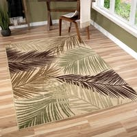 Havenside Home Ruddock Beige/ Brown Rug - 5'2 x 7'6