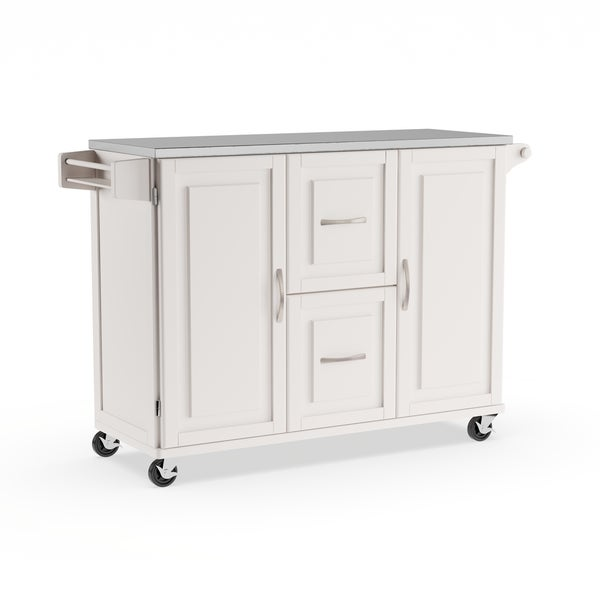 Buy White Kitchen Carts Online at Overstock | Our Best ...