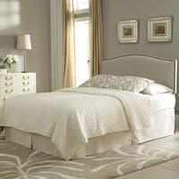 Gracewood Hollow Undset Upholstered Adjustable Headboard