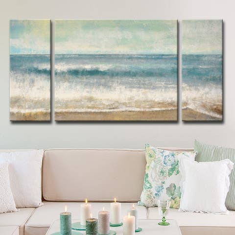 Copper Grove Beach Memories' by Norman Wyatt Jr. Wrapped Canvas Art